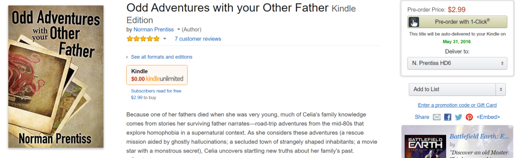 Other Father at Amazon